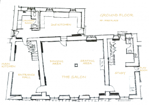 Ground Floor Layout Domaine de Badia